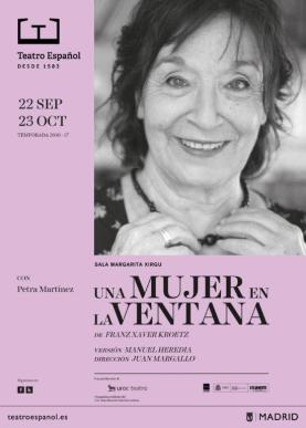 UNA MUJER EN LA VENTANA en el Teatro Español.