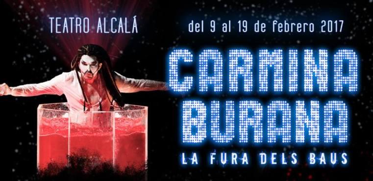 CARMINA BURANA de LA FURA DELS BAUS en el Nuevo Teatro Alcalá