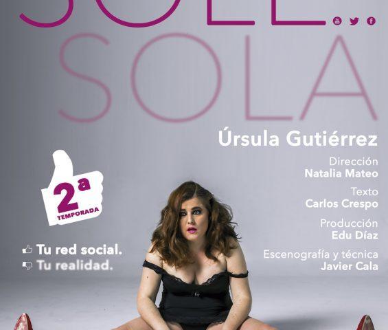 SOLE SOLA en el Teatro Lara
