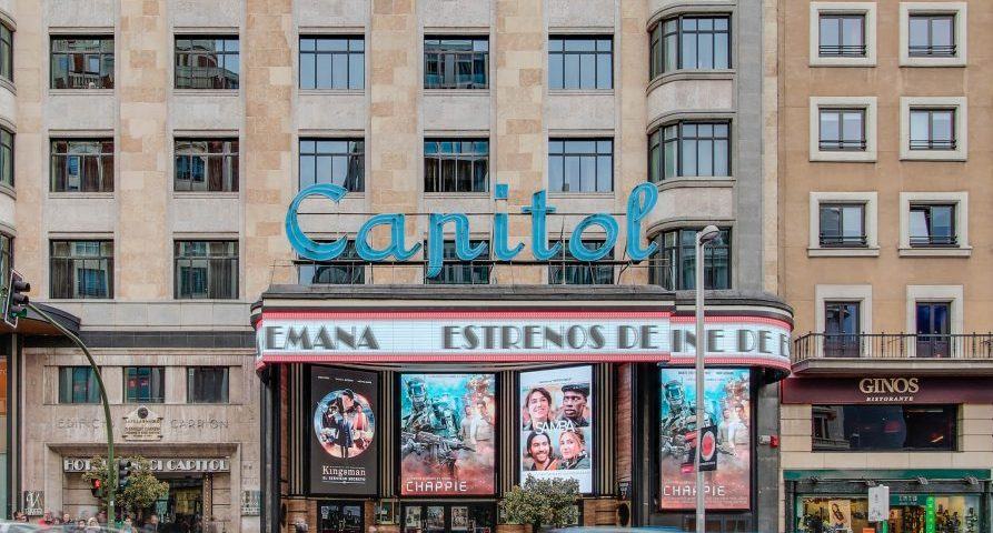 El Cine y Teatro Capitol Gran Vía