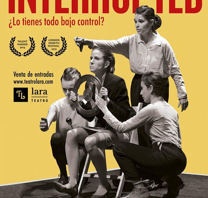 """Te invitamos a ver """"INTERRUPTED"""" (cerrado)"""