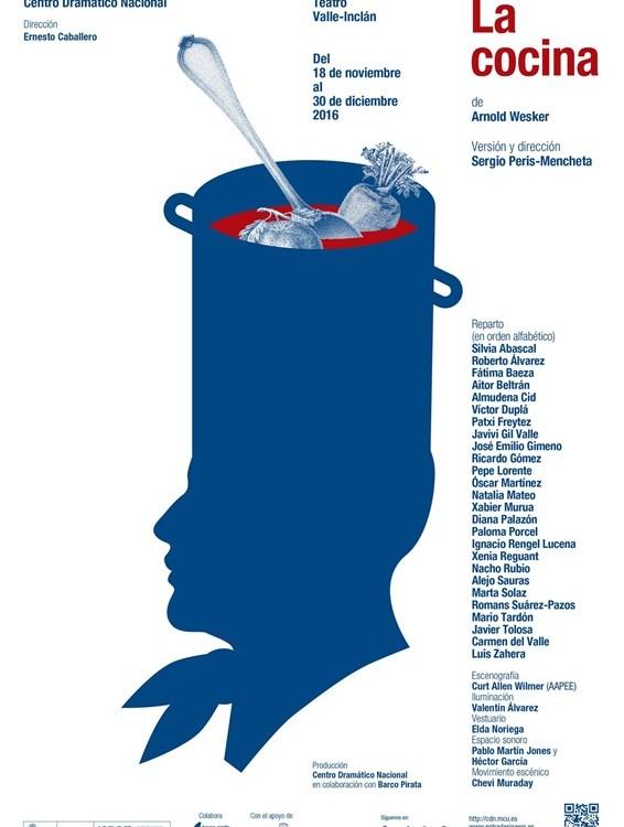 LA COCINA de Arnold Wesker en el Teatro Valle-Inclán