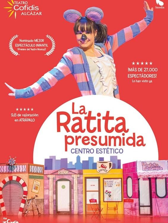 LA RATITA PRESUMIDA Centro estético en el Teatro Cofidis Alcázar