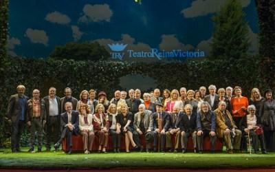 Homenaje a Actores de Leyenda en el Teatro Reina Victoria