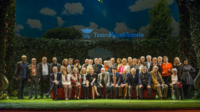Homenaje Actores de Leyenda y entrega butacas de oro Teatro Reina Victoria