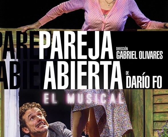 PAREJA ABIERTA El musical en el Teatro Marquina