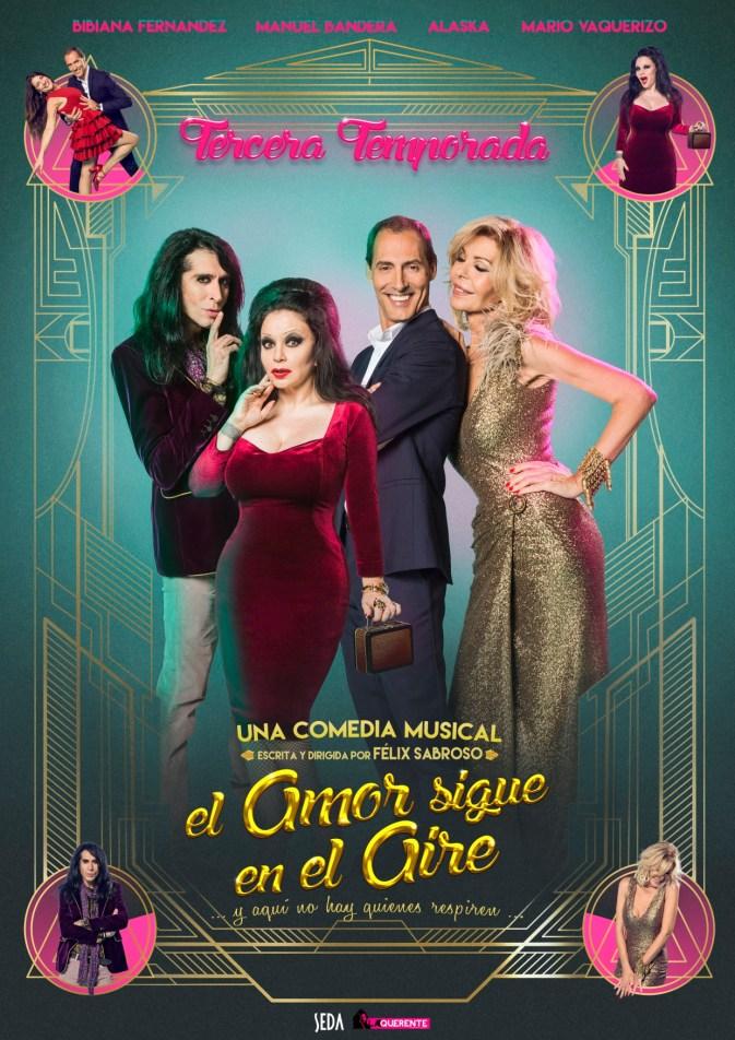 EL AMOR SIGUE EN EL AIRE, Teatro Capitol Gran Vía