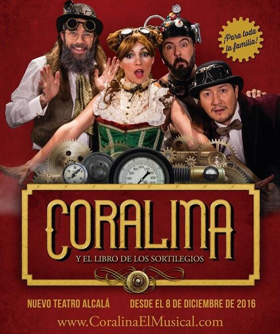 CORALINA Y EL LIBRO DE LOS SORTILEGIOS en el Nuevo Teatro Alcalá