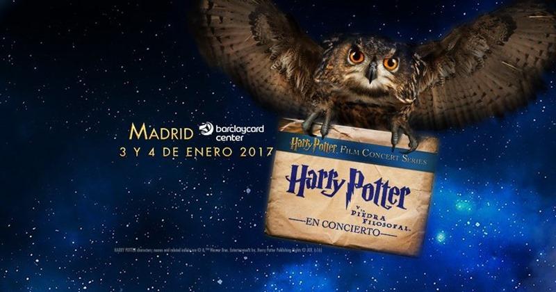 Harry Potter y La Piedra Filosofal en Concierto en Madrid