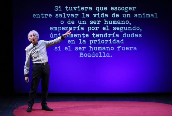 El Sermón del Bufón en el Teatro Marquina