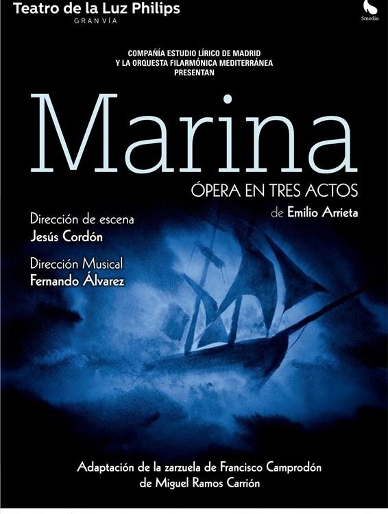 MARINA - ÓPERA en el Teatro de la Luz Philips Gran Vía