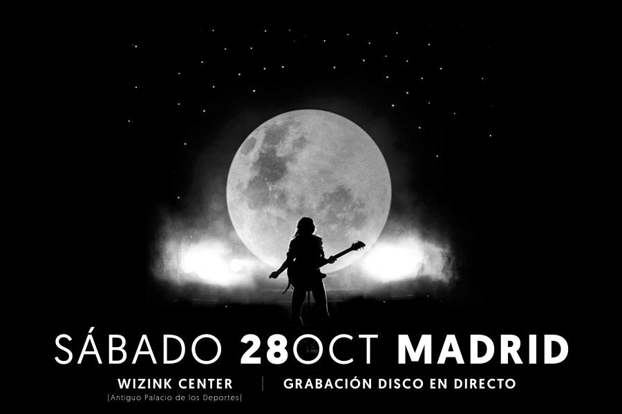 NOCTURNAL AMARAL en el WiZink Center Madrid