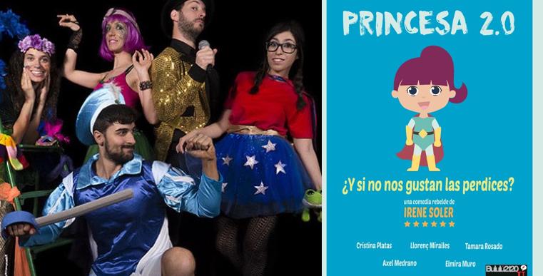 PRINCESA 2.0 de Irene Soler en los Teatros Luchana