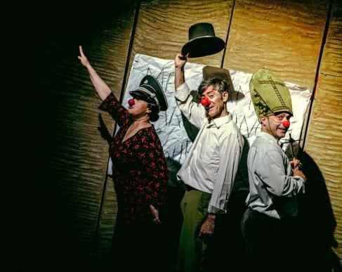 UN ENCUENTRO CON MIGUEL HERNANDEZ en el Teatro de Lagrada