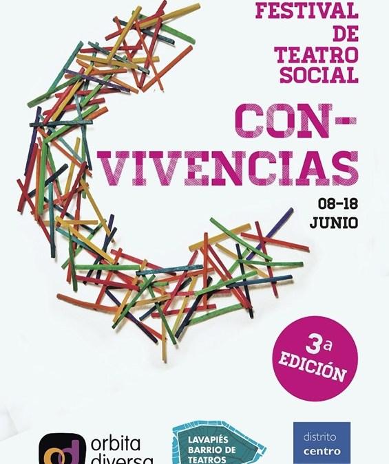 Programación – III Festival de Teatro Social Con-Vivencias