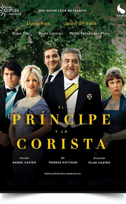 EL PRÍNCIPE Y LA CORISTA en el Teatro Cofidis Alcázar