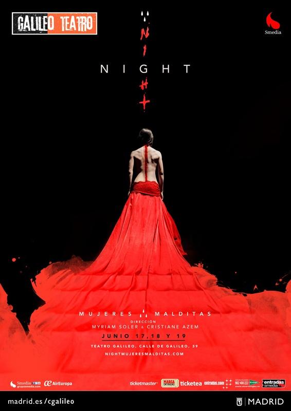 NIGHT de Myriam Soler y Cristiane Azem en el Teatro Galileo