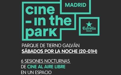CINE – IN THE PARK – Una nueva forma de disfrutar del cine al aire libre