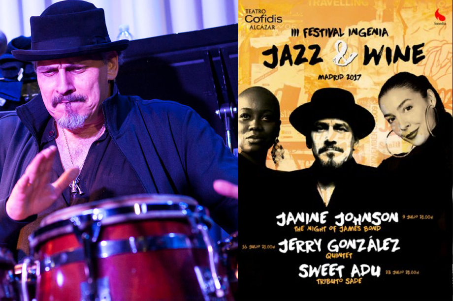 Te invitamos a ver a JERRY GONZÁLEZ QUINTET (III Festival Ingenia Jazz& Wine 2017) Cerrado