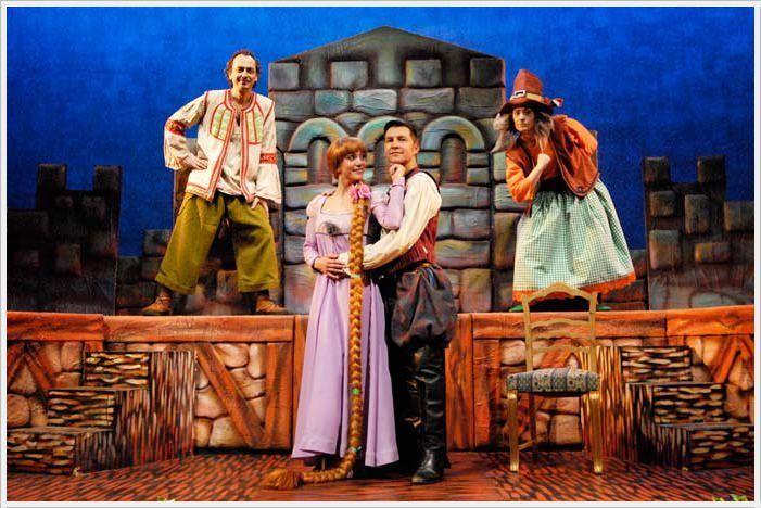 RAPUNZEL (el musical) en el Teatro Sanpol