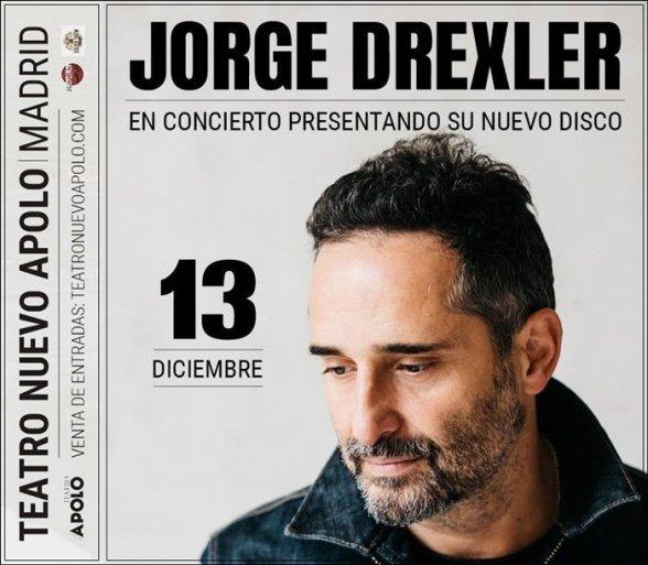 JORGE DREXLER - SALVAVIDAS DE HIELO en el Teatro Nuevo Apolo