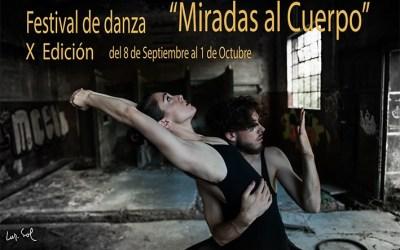 Festival de Danza Miradas al cuerpo en el Teatro Lagrada