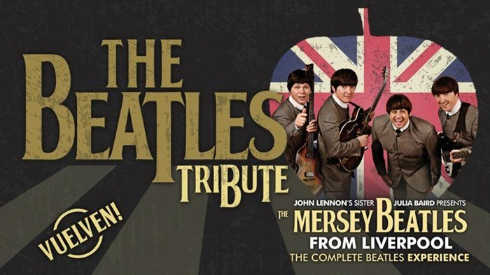 THE BEATLES TRIBUTE – The Mersey Beatles en el Teatro Lope de Vega