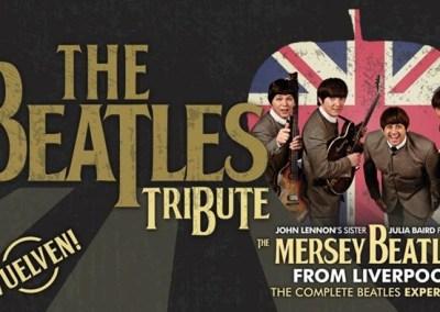 THE BEATLES TRIBUTE – The Mersey Beatles en el Teatro Lope de Vega