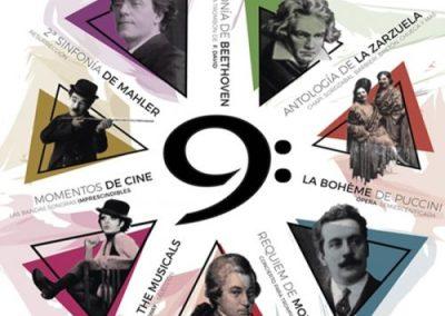 9ª TEMPORADA FILARMONÍA en el Auditorio Nacional de Música