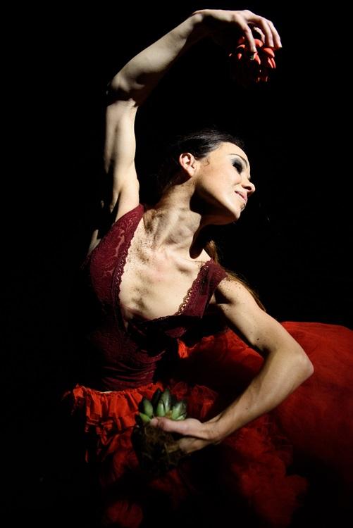OLGA PERICET. La espina que quiso ser flor o la flor que soñó con ser bailaora en los Teatros del Canal