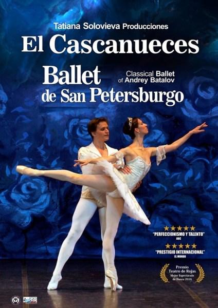 EL CASCANUECES - Ballet de San Petersburgo en el Teatro de la luz Philips Gran Vía