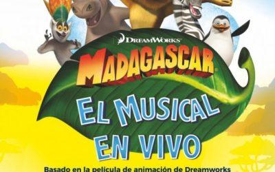 MADAGASCAR EL MUSICAL en el Teatro de la Luz Philips Gran Vía
