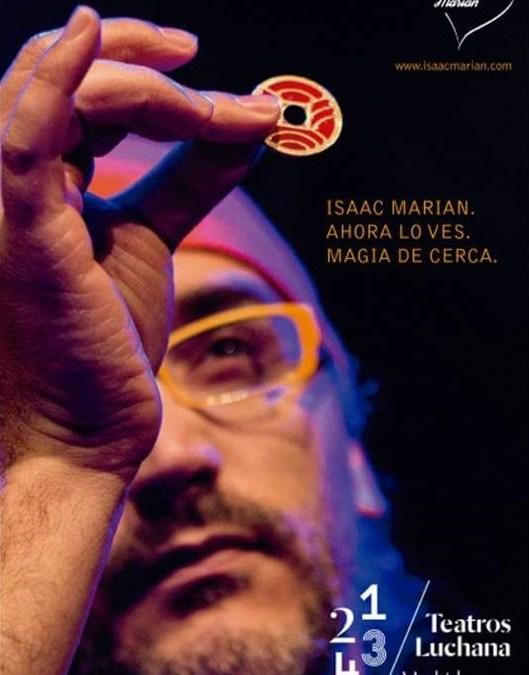 AHORA LO VES, Magia de cerca, Teatros Luchana