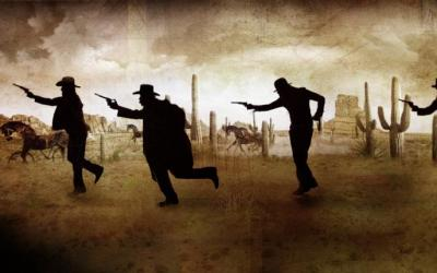 DEADTOWN, THE FORMAN BROTHERS' WILD WEST SHOW  The Forman Brother's Theatre