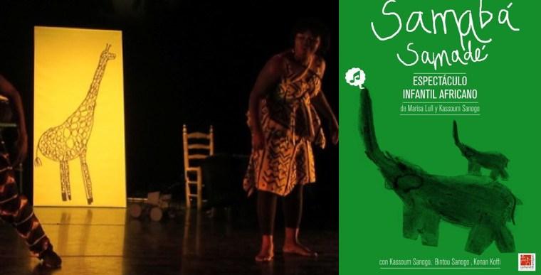 SAMABÁ SAMADÉ de la Compañía Samadeni en el Teatro Español