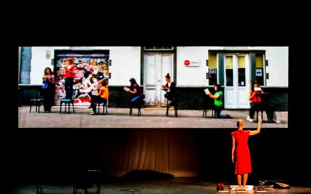 LA EDAD DEL FRÍO. CONVERSACIONES CON ANTÍGONA, en la Sala Mirador