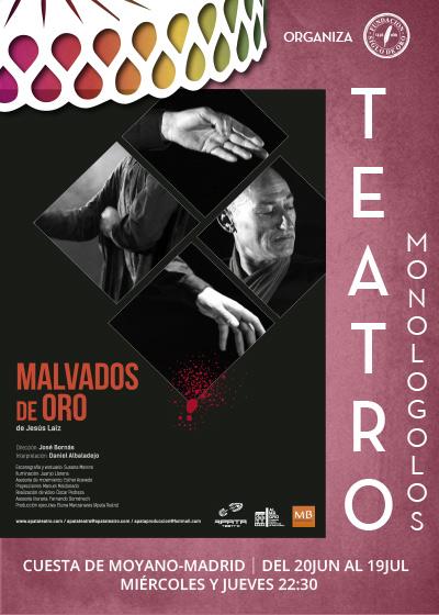 MALVADOS DE ORO en el Corral Cervantes