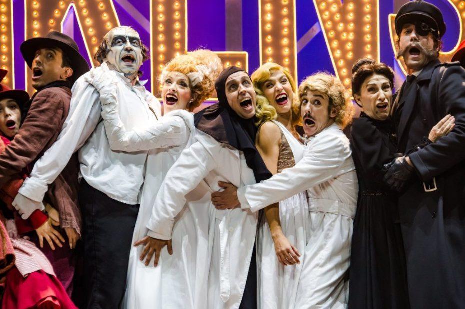 EL JOVENCITO FRANKENSTEIN El Musical Teatro de la Luz Philips (Madrid)