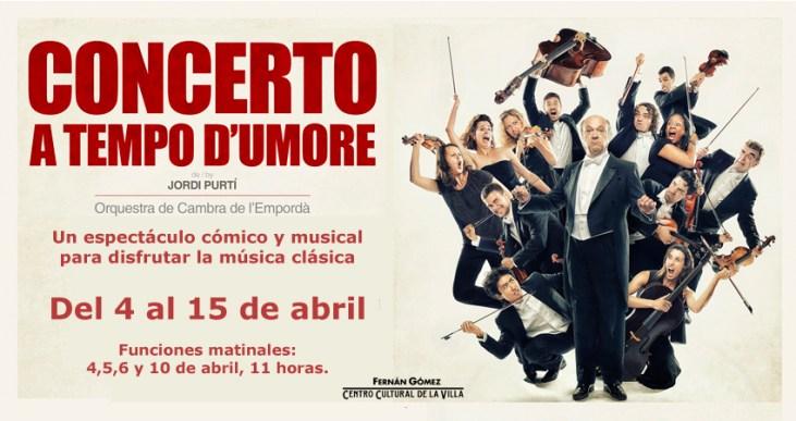 CONCERTO A TEMPO D´UMORE en el Teatro Fernán Gómez