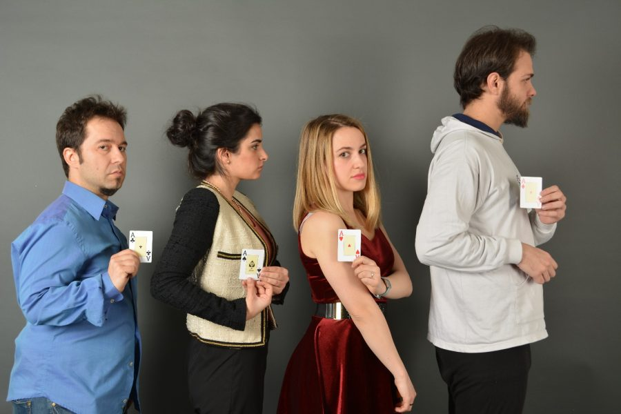 STRIP POKER en el Teatro Lagrada