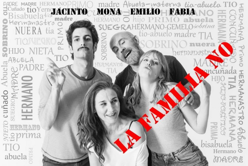 LA FAMILIA NO en la Sala Cuarta Pared (Surge Madrid 2018)