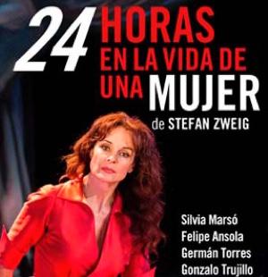 24 HORAS EN LA VIDA DE UNA MUJER en el Teatro de La Abadía