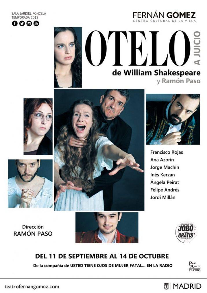 OTELO A JUICIO en el Teatro Fernán Gómez