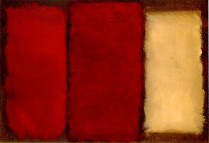 Untitled Canvas 1964 - Mark Rothko