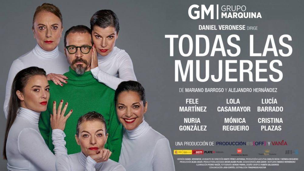 48a9c4305d06 TODAS LAS MUJERES en el Teatro Príncipe Gran Vía - Madrid Es Teatro