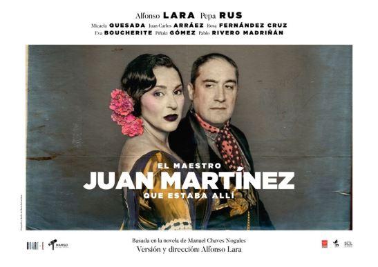 El maestro Juan Martínez, que estaba allí, en los Teatros Luchana