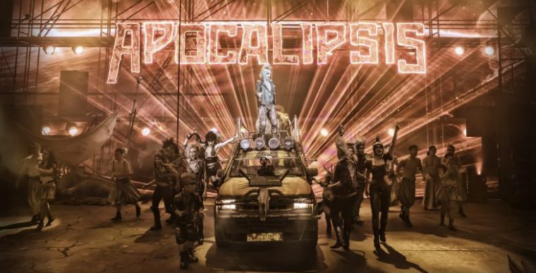 APOCALIPSIS, Circo de los Horrores, en la Caja Mágica