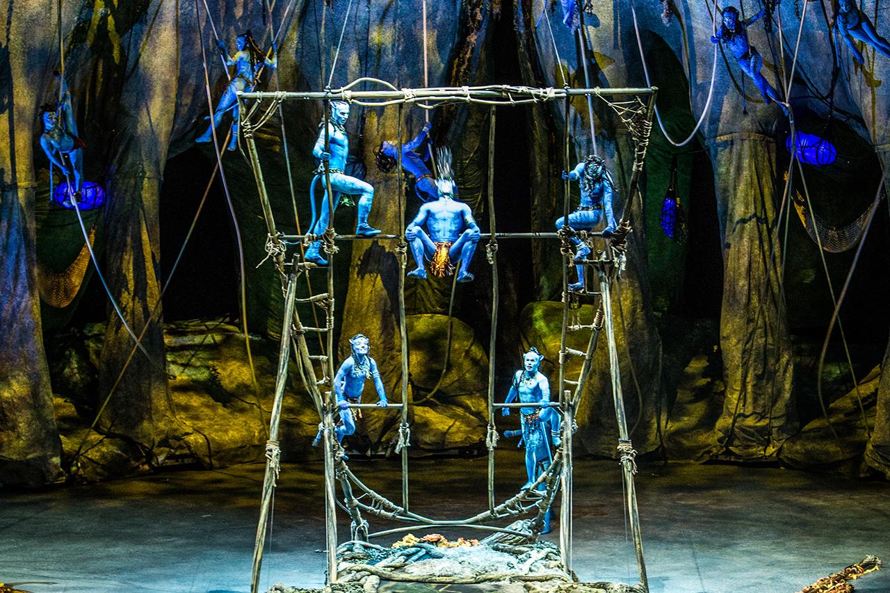 TORUK de El Circo del Sol, en el WiZik Center