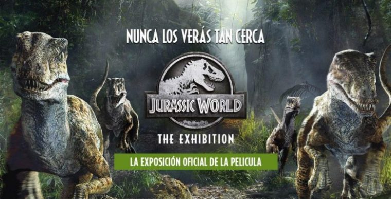 JURASSIC WORLD THE EXHIBITION, EN MADRID