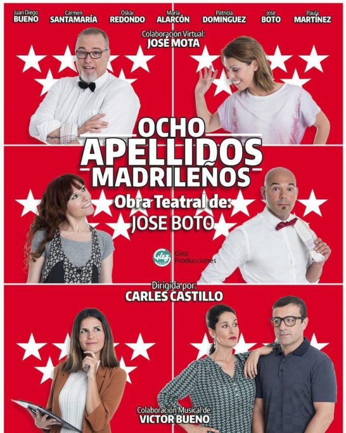 8 APELLIDOS MADRILEÑOS en el Palacio de la Prensa